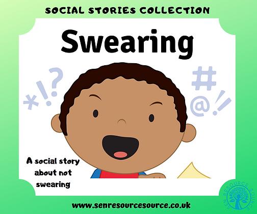 Swearing Social Story