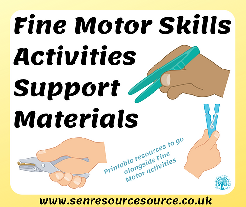 Fine Motor Skills Support Resources