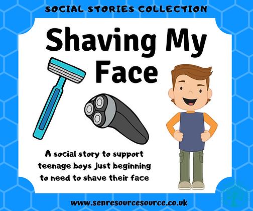 Shaving My Face Social Story