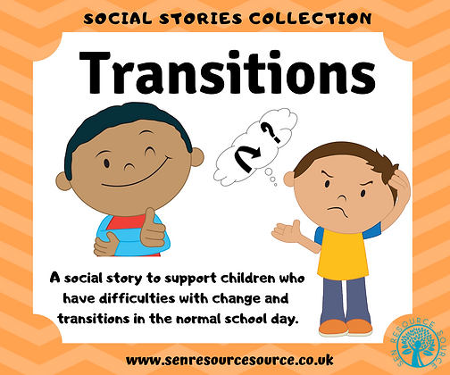 Transitions social story