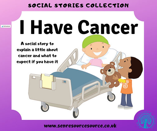 I Have Cancer Social Story