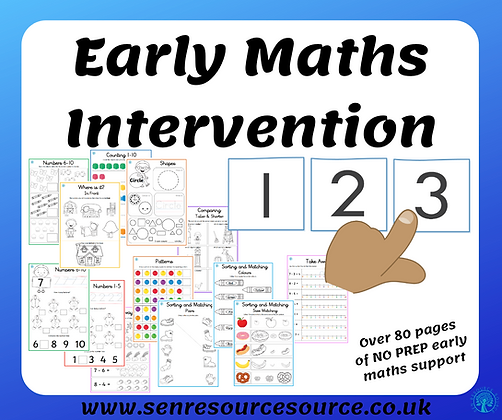 Early Maths Intervention