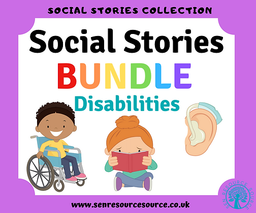 Explaining Disabilities Social Stories Bundle