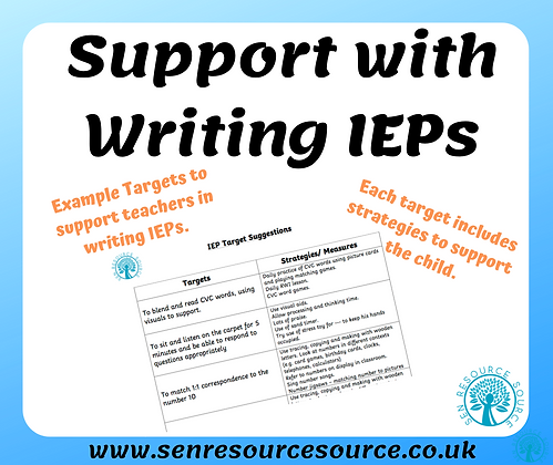 IEP example targets