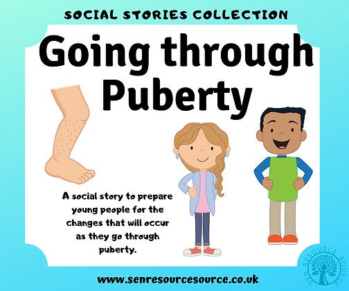 Puberty Social Story