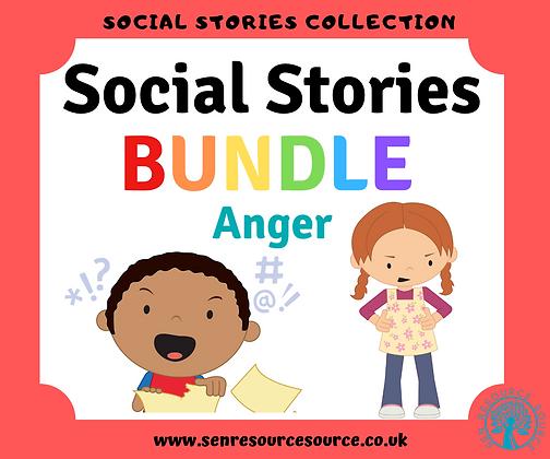 Anger Social Stories Bundle