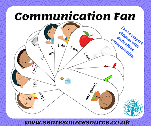 Communication fans