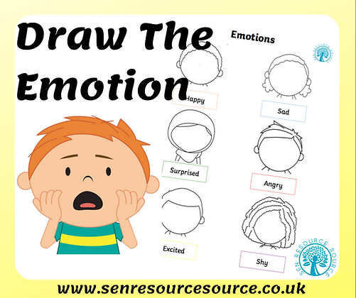 Draw your own emotions faces