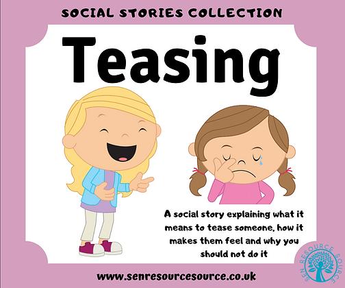 Teasing Social Story