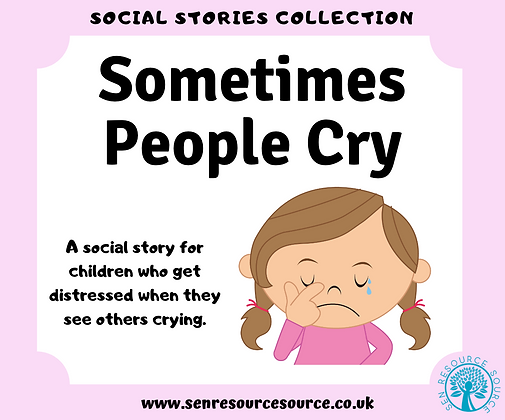 Sometimes People Cry Social Story