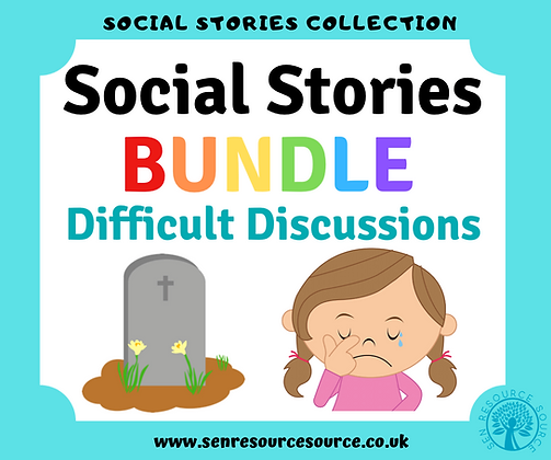 Difficult Discussions Social Stories Bundle