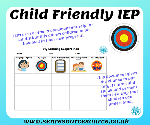 Child Friendly IEP