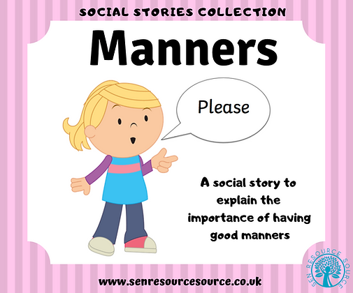 Manners Social Story