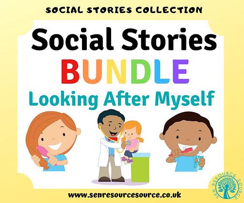 Looking After Myself Social Stories Bundle