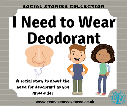 I Need to Wear Deodorant Social Story