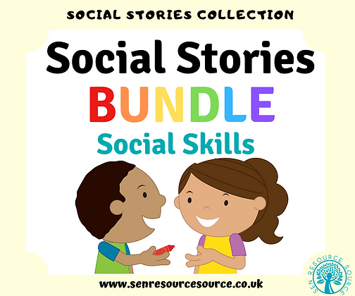 Social Skills Social Stories Bundle