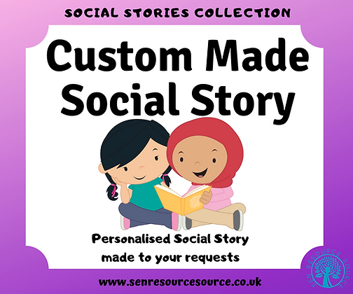 Custom Made Social Story