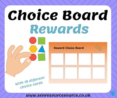 Reward choice board
