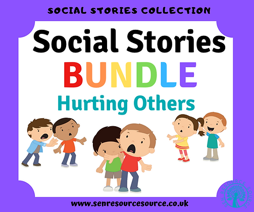 Hurting Others Social Stories Bundle