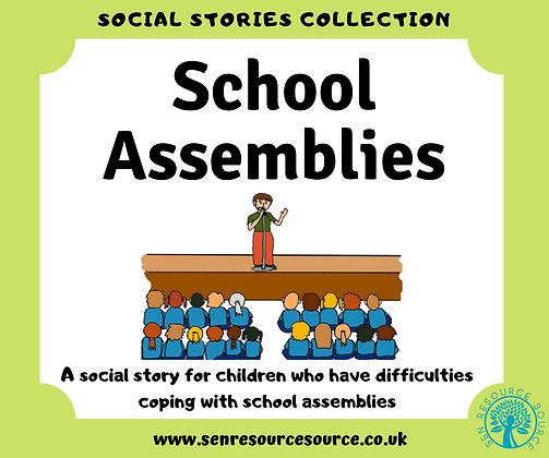 School Assemblies Social Story