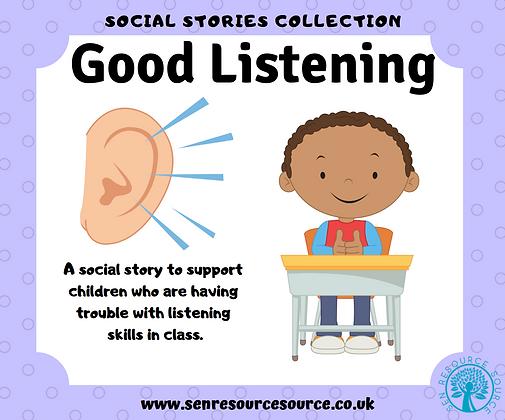 Good Listening Social Story