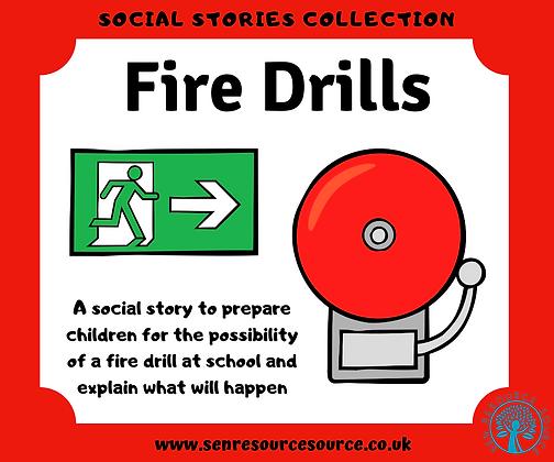 Fire Drills Social Story