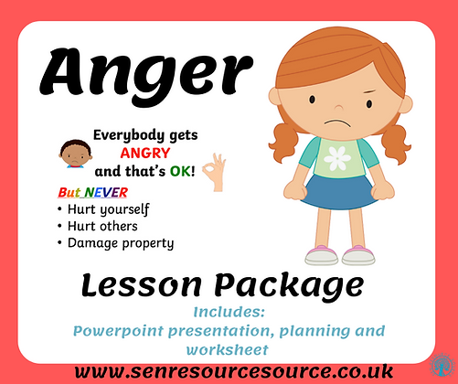 Anger Lesson Package