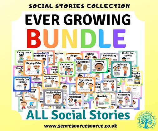 HUGE Growing Social Stories Bundle