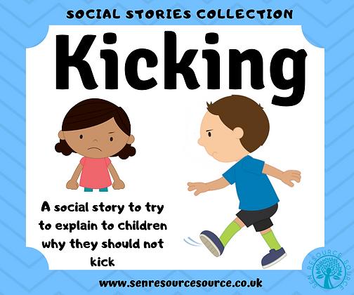 Kicking Social Story
