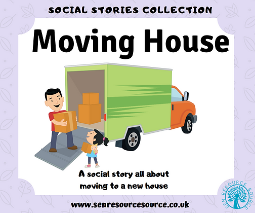 Moving House Social Story
