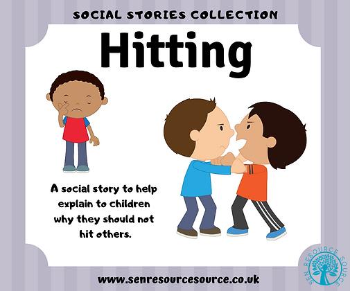 Hitting Social Story