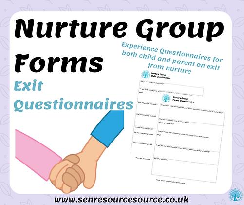 Nurture Experience Questionnaires