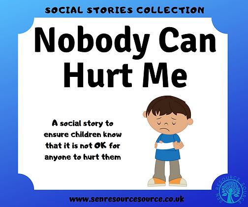 Nobody Should Ever Hurt Me Social Story