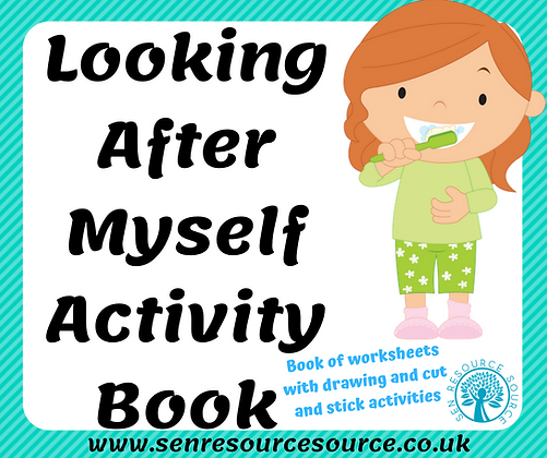Looking After Myself Book