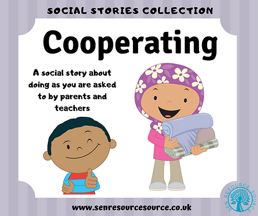 Cooperating Social Story