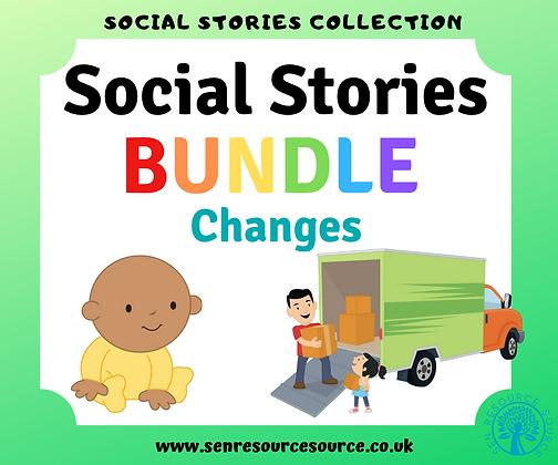 Changes Social Stories Bundle