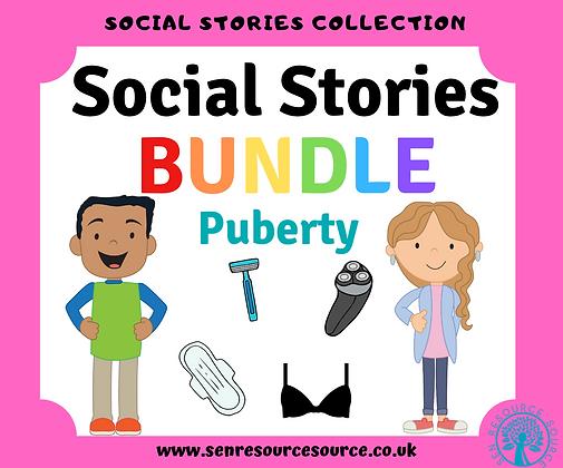 Puberty Social Stories Bundle