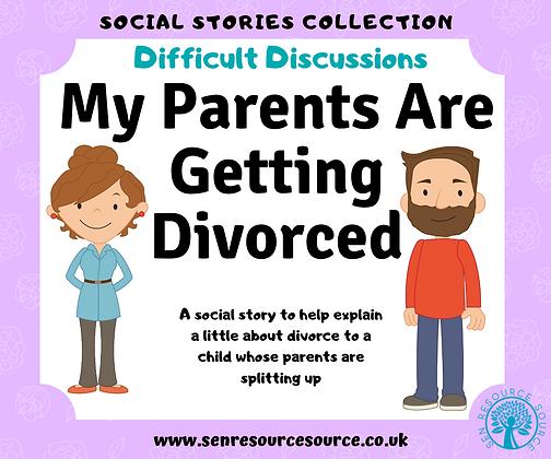 Divorce Social Story