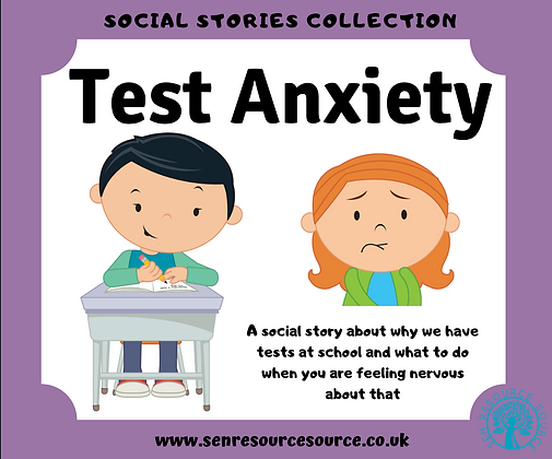 Test Anxiety Social Story