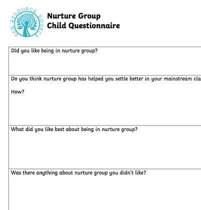Child Questionnaire