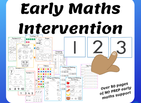 Take a Look Inside Our Early Maths Intervention