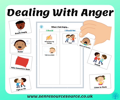 Anger Choices Worksheet