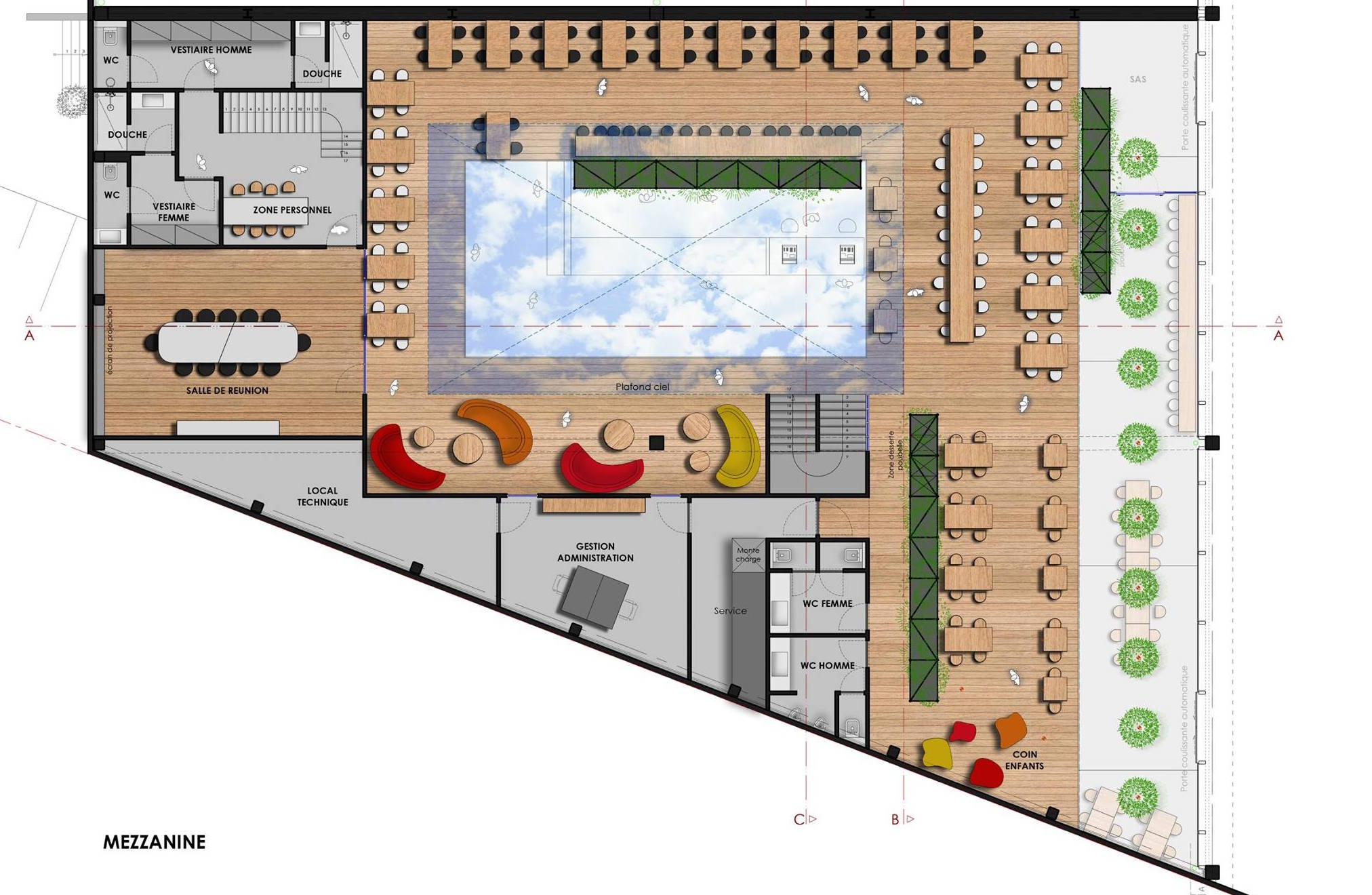 Restaurant - Plan