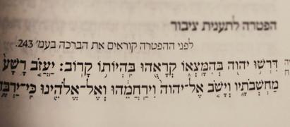 """צום י""""ז בתמוז: המבחן לדתיותך"""