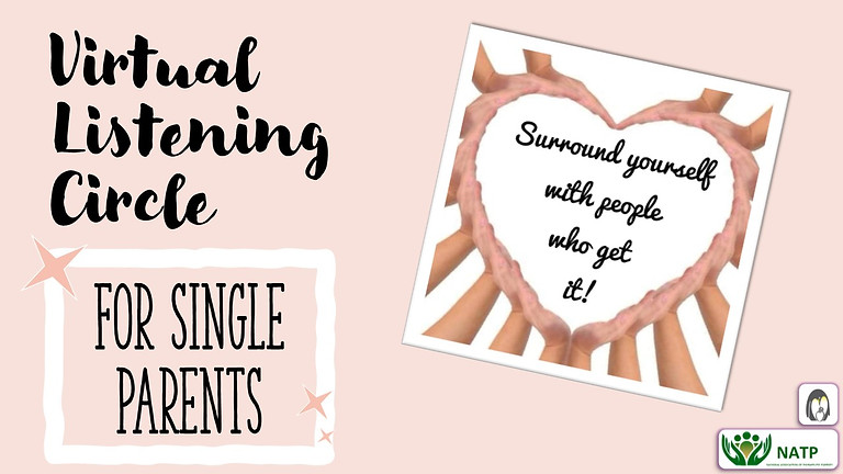 Virtual Listening Circle for Single Parents