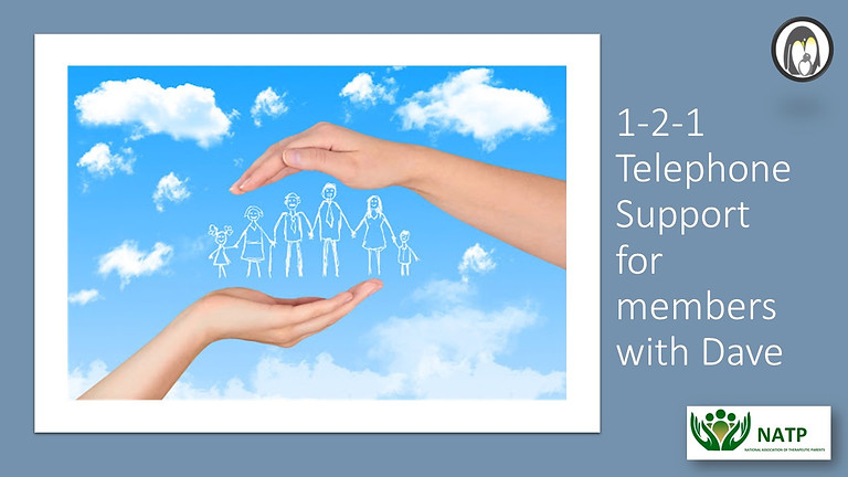 1-2-1 Telephone Support for Members with Dave Edwards