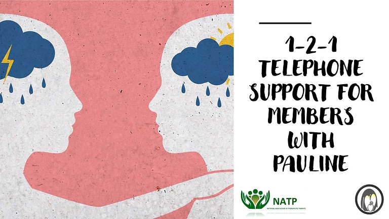 1-2-1 Telephone Support for Members with Pauline Graham