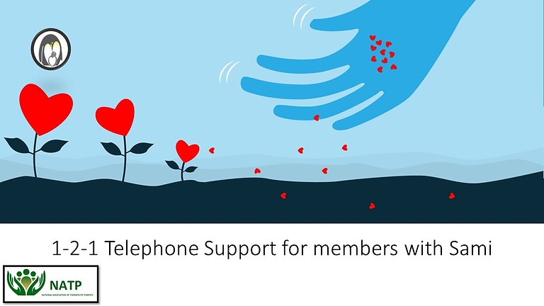 1-2-1 Telephone Support for Members with Sami Byrne