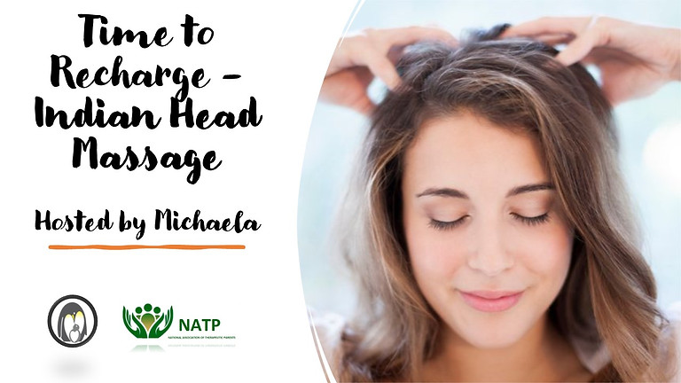 Time to Recharge - Indian Head Massage