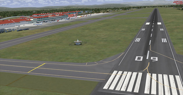FSX  Ground Scenery with Gmax and MCX